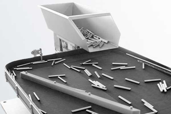Hensle Zuführtechnik, Teileschonung